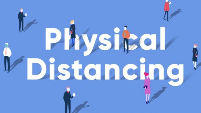penerapan physical distancing