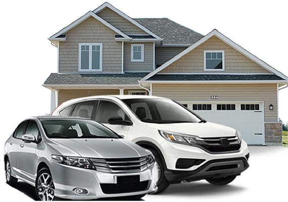 Ilustrasi Kredit Mobil dan Rumah