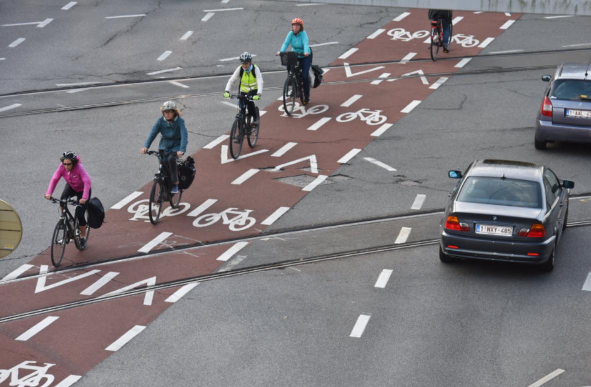 antwerp cycle lane