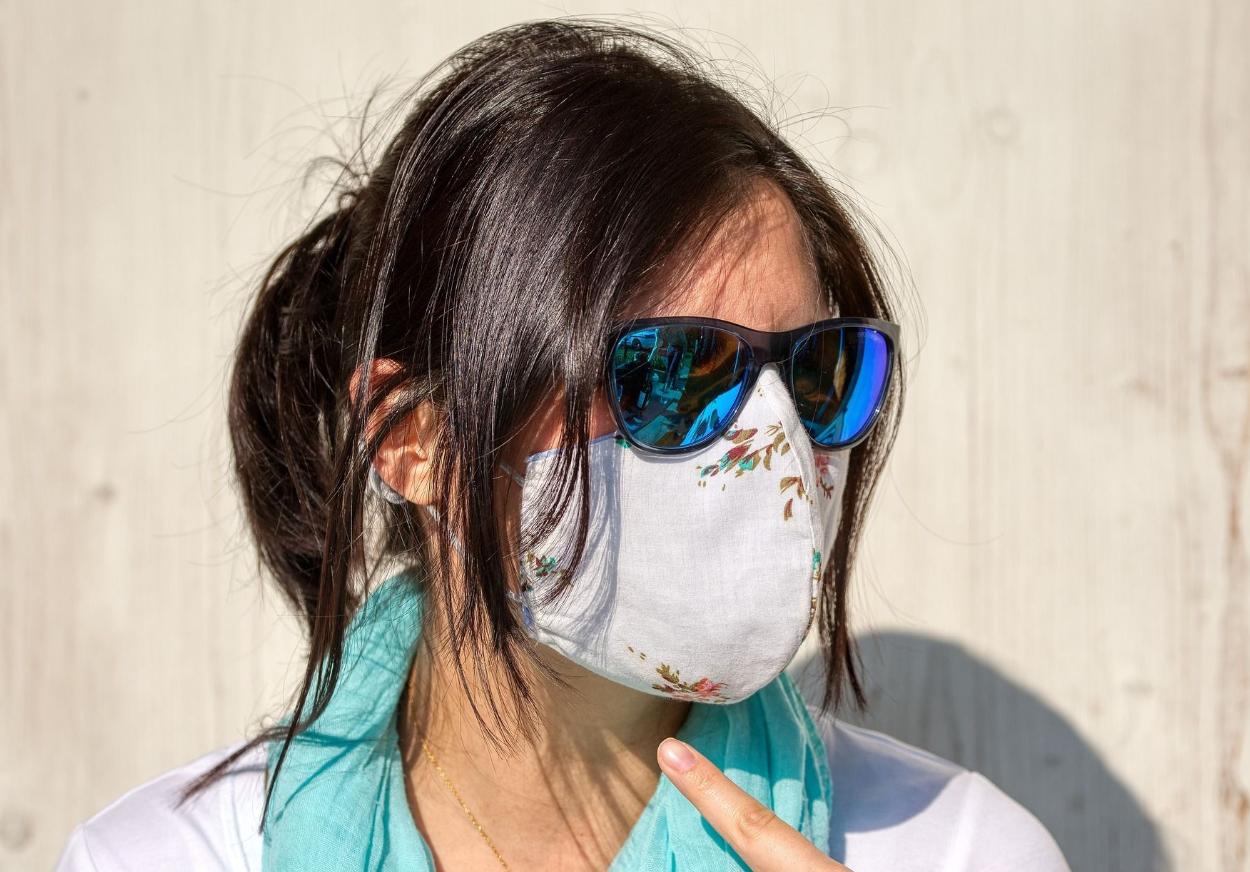 penggunaan masker kain